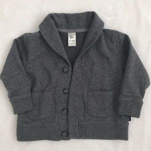 Kids Gray Cardigan size 12-18 months